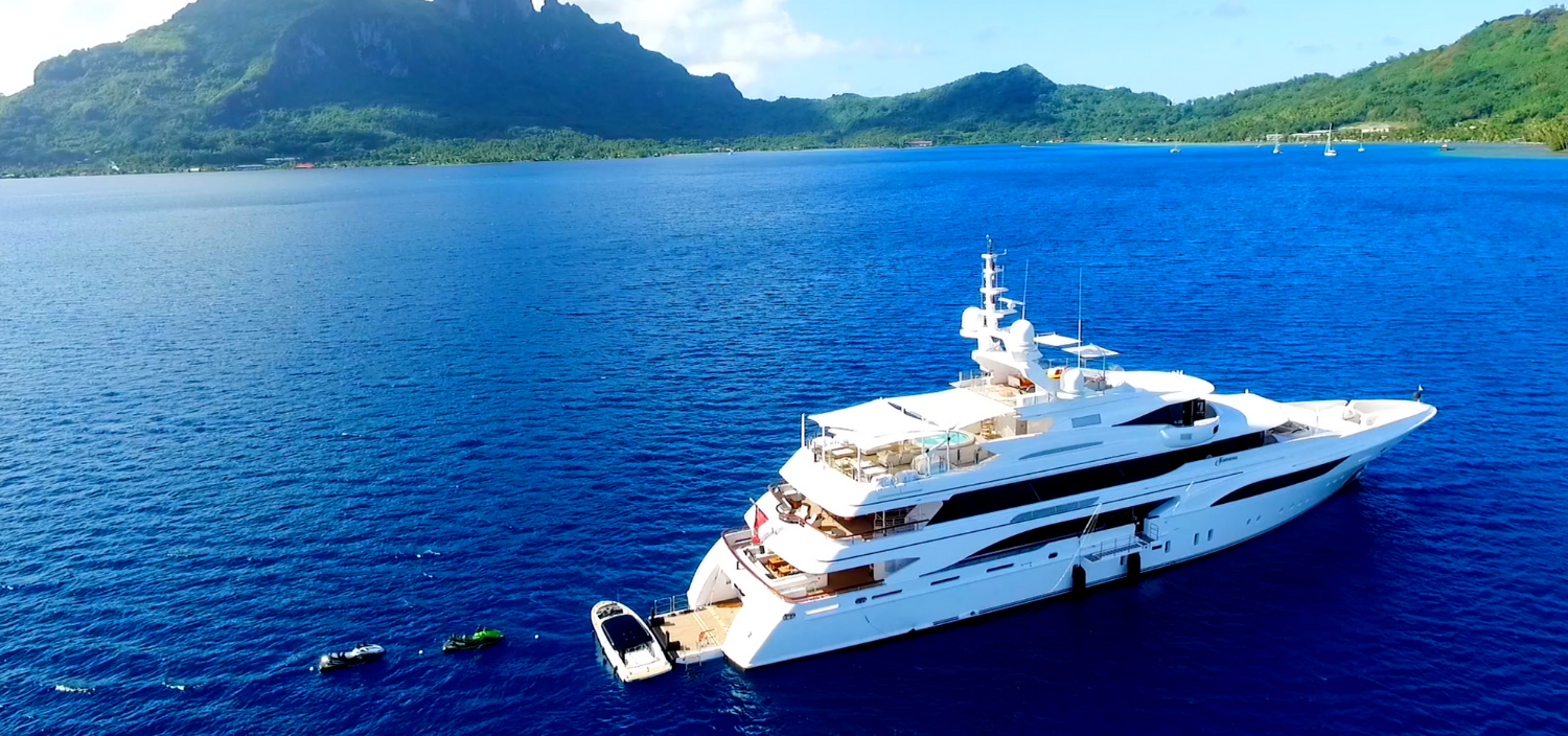 water toys on board a luxury yacht for charter
