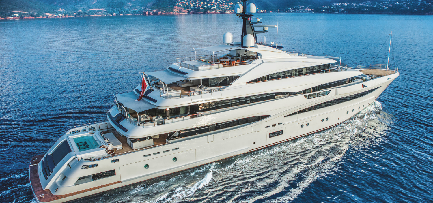 luxury yachts for charter destinations
