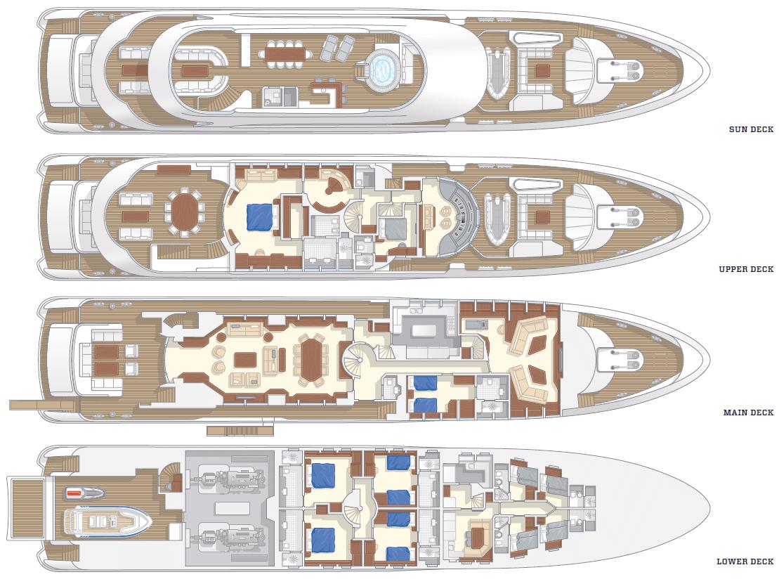 100 luxury yacht floor plans exclusive 63 dufour for 100 floor 63