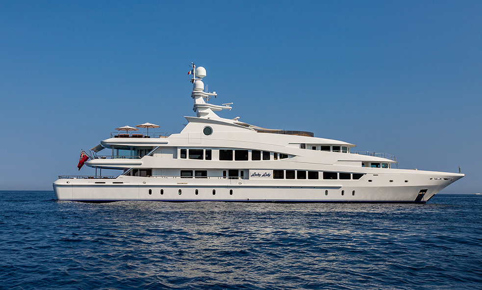 Superyacht LUCKY LADY Joins the Fraser Sales Fleet