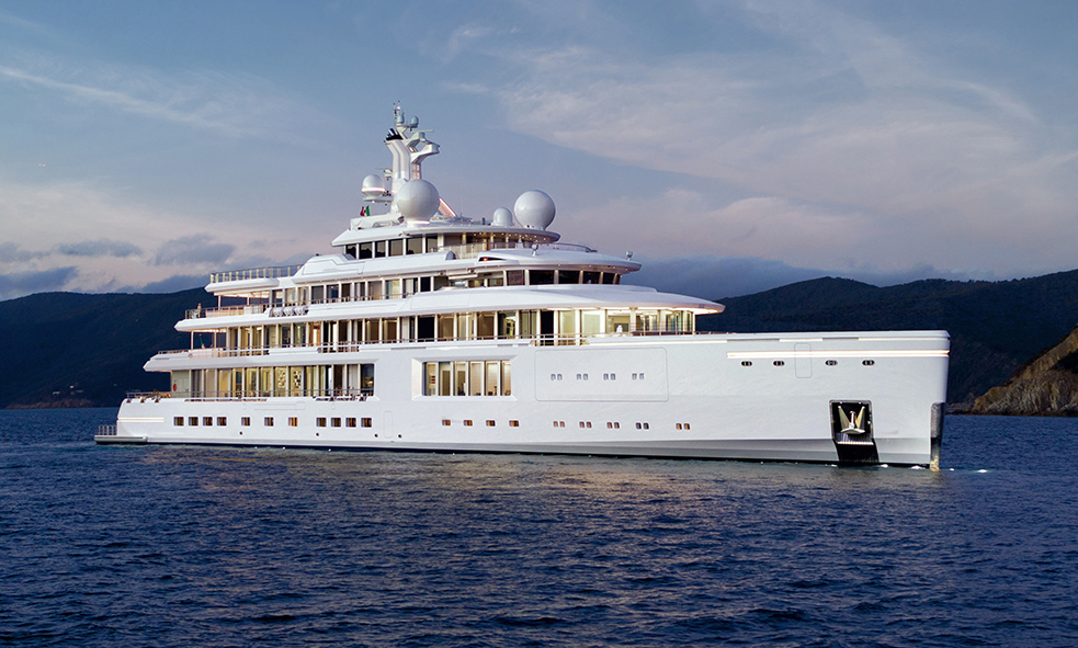Motor Yacht LUMINOSITY From Benetti for Sale With Fraser