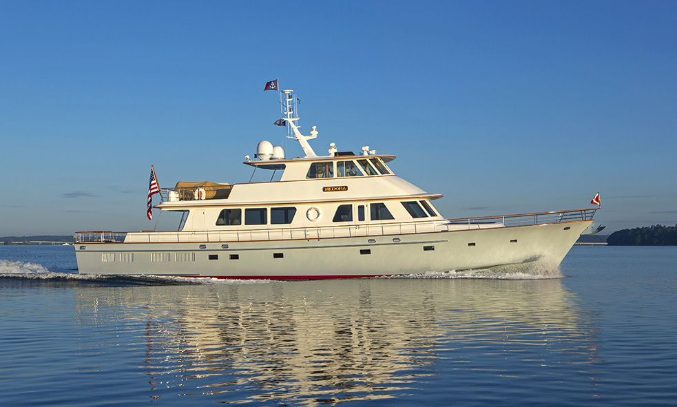 Fraser Welcomes 29M New England Boat Works Classic Yacht MEDORA to Sales Fleet