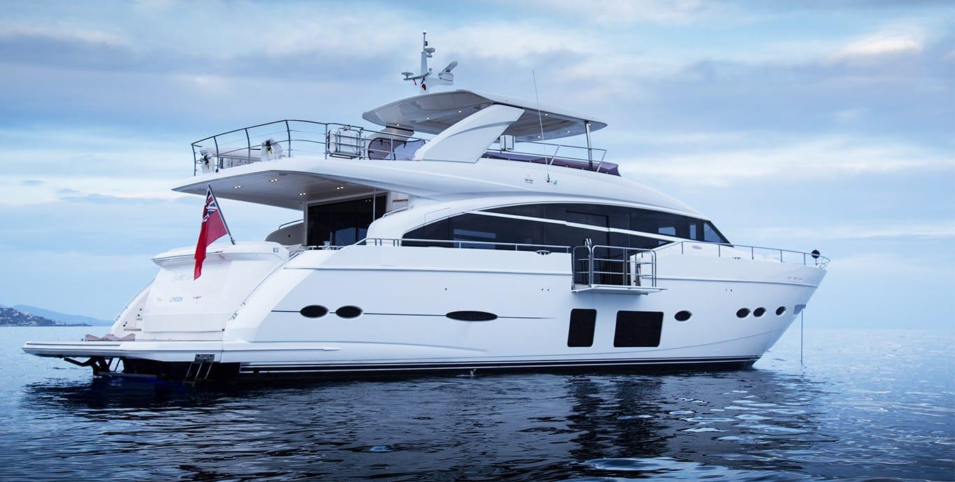 Minx 27m Yacht Princess Shipyard