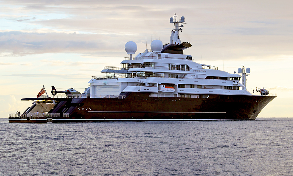 126M Lurssen M/Y OCTOPUS For Sale With Fraser