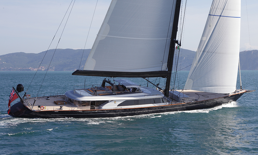 59m S/Y PERSEUS³ from Perini Navi for sale with Fraser