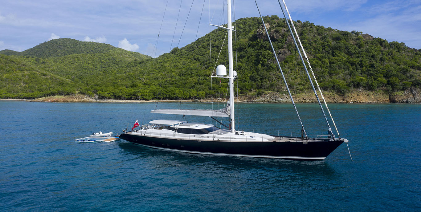 Radiance Yacht For Sale Fraser City mountains dock sail boat yacht