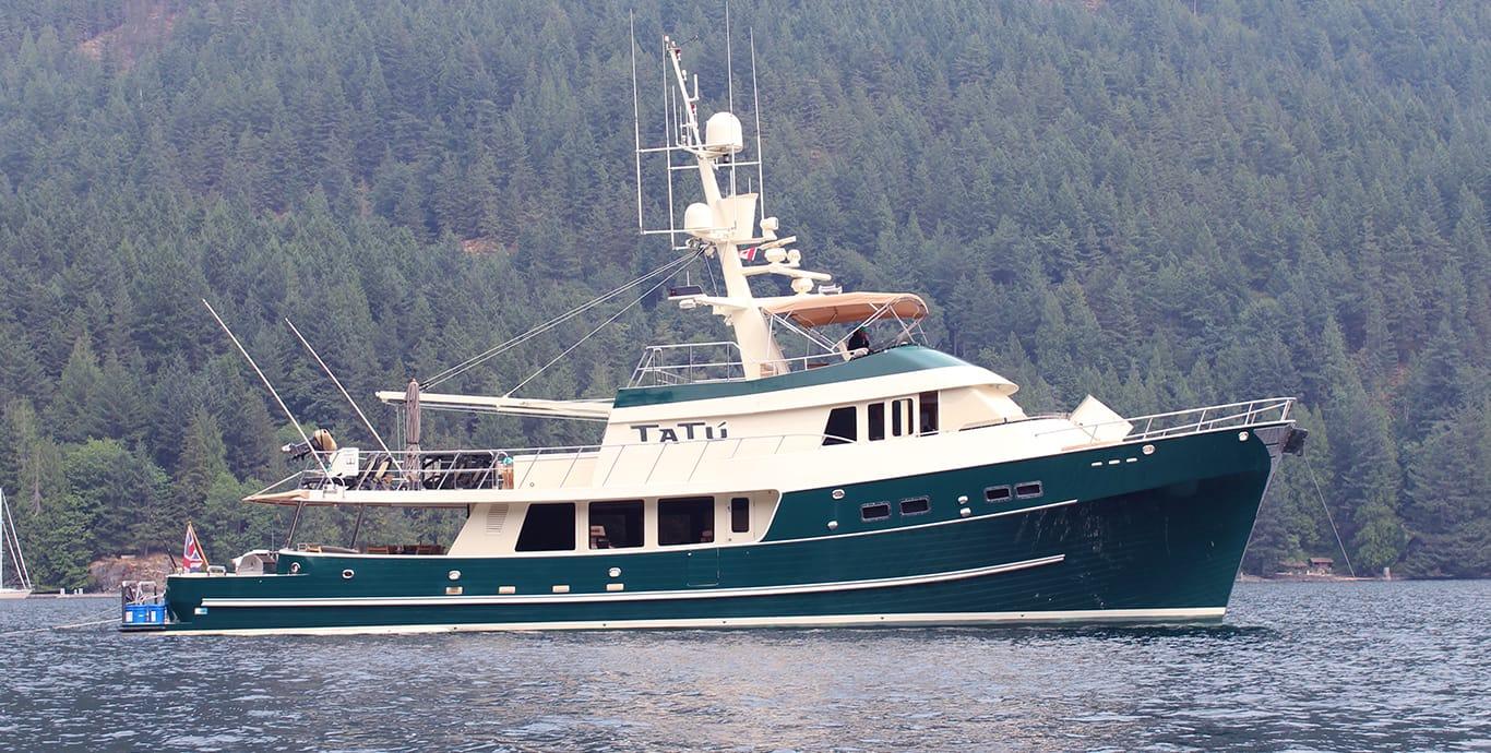 Tatu yacht fraser for Motors for boats for sale