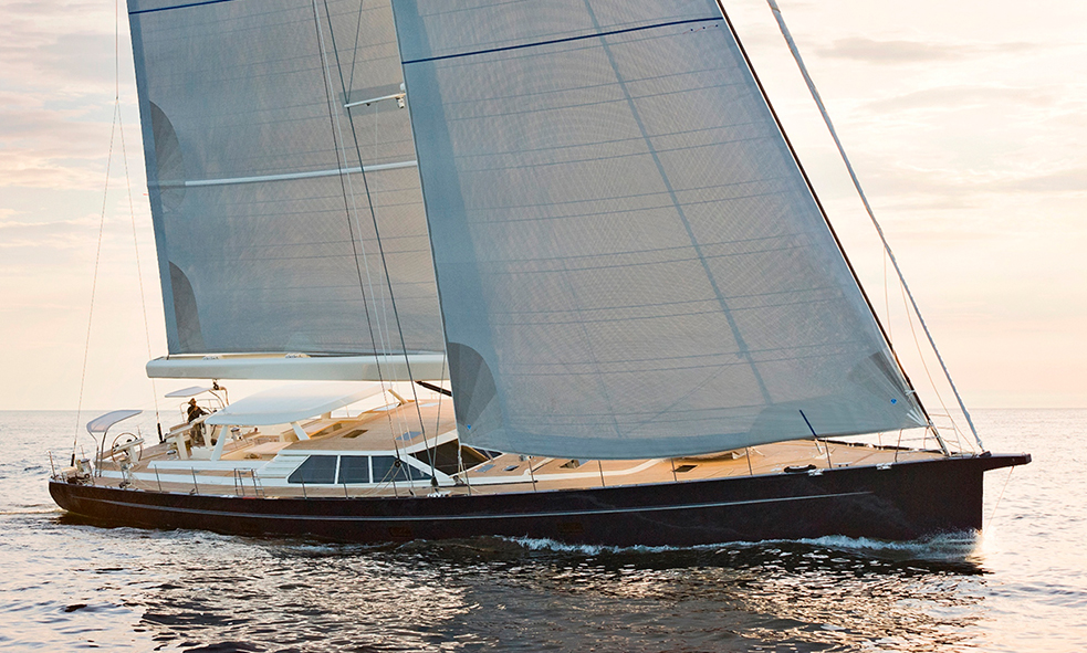 35.78m S/Y PATH From Baltic Yachts for sale with Fraser