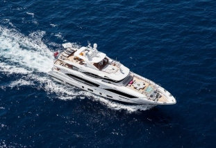 67m superyacht Amels with Fraser Yachts