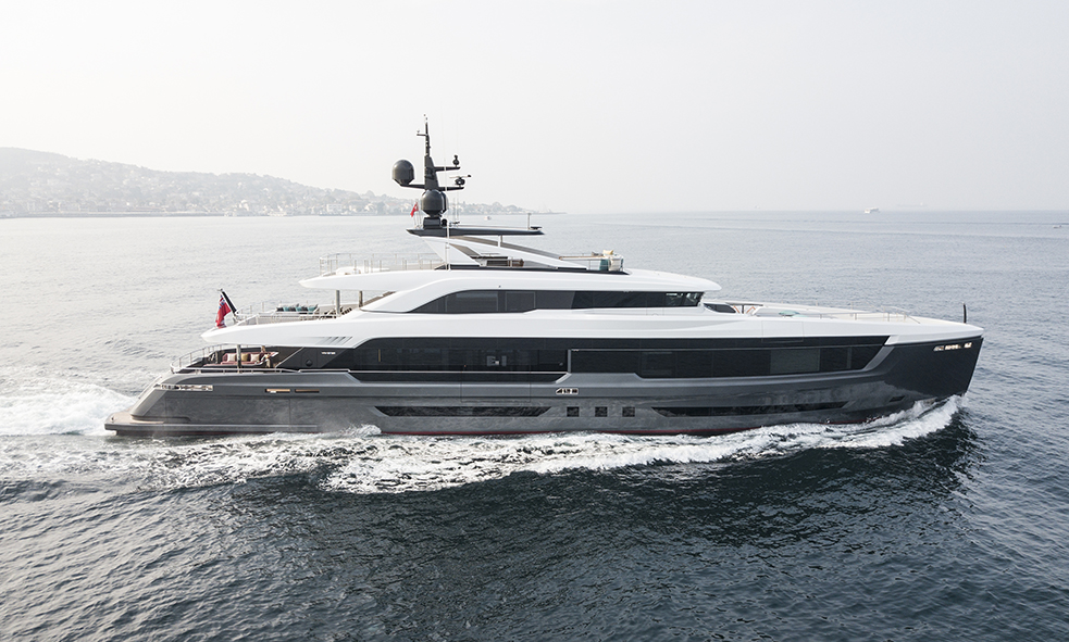 42.99m M/Y VIRTUS 44 From Mengi Yay sold by Fraser