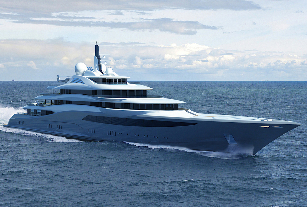 project infinity designer yacht