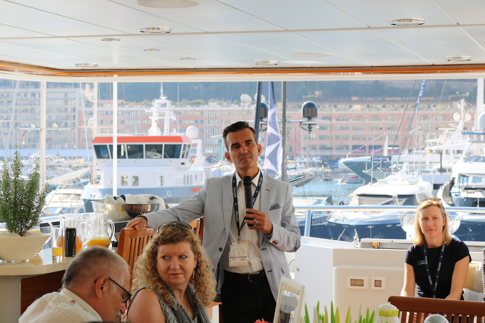 fraser press breakfast Monaco Yacht Show 2017