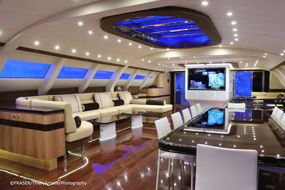 Experience Futuristic Cruising On M Y Galaxy Of Happiness
