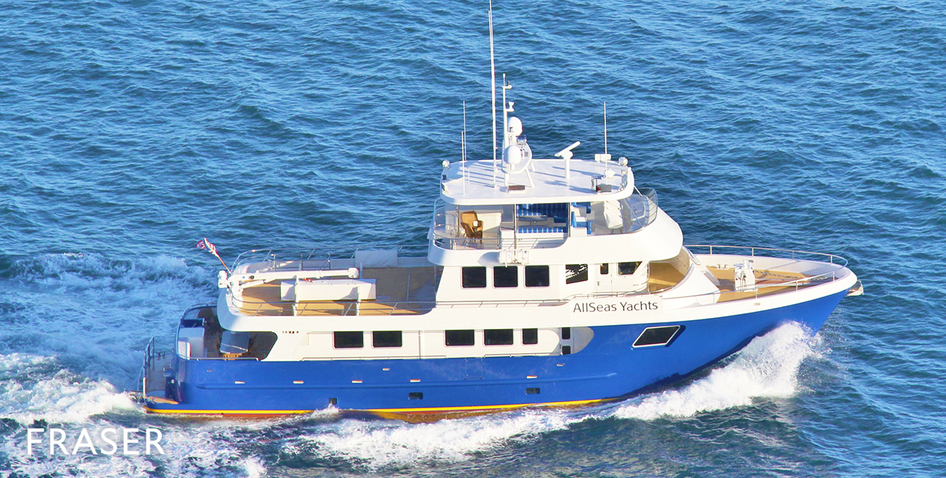 ALLSEAS 9 EXPEDITION Yacht for Sale  Fraser