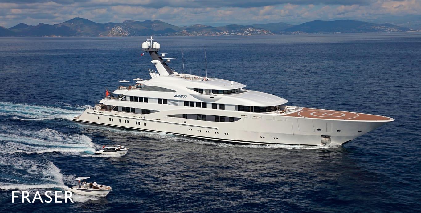 ARETI yacht