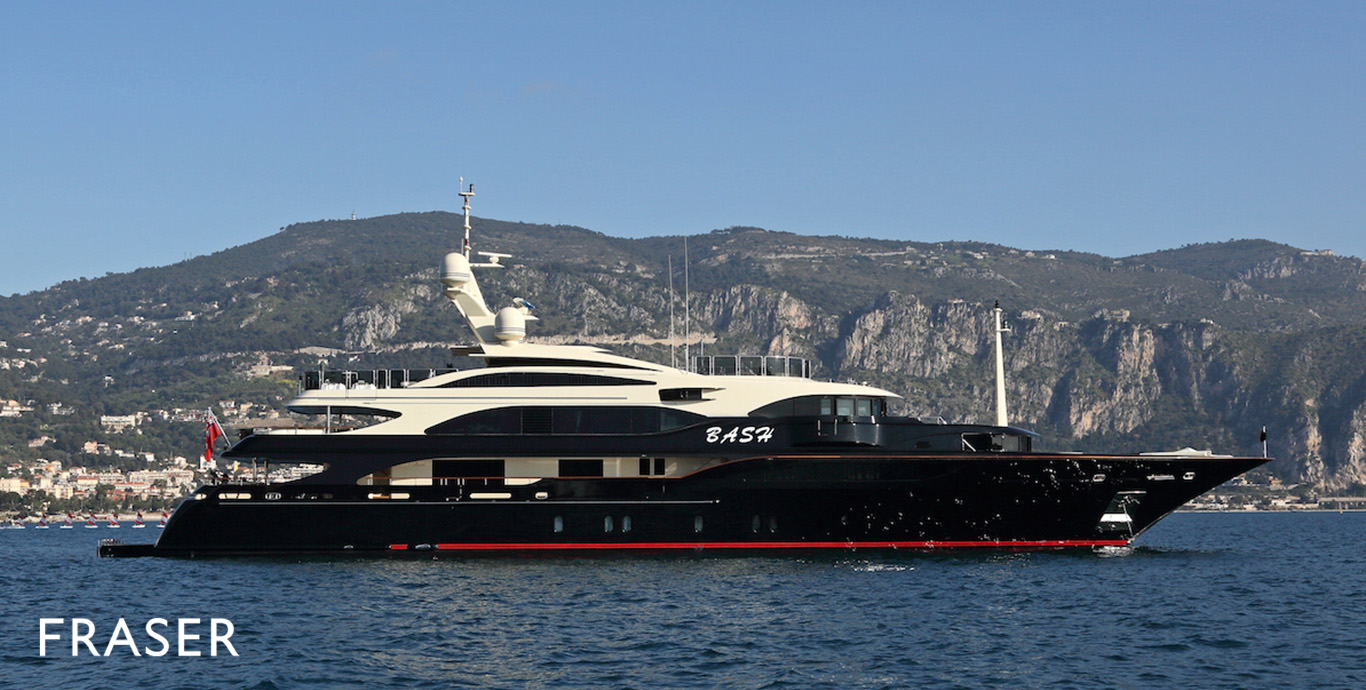 BASH Yacht | Fraser