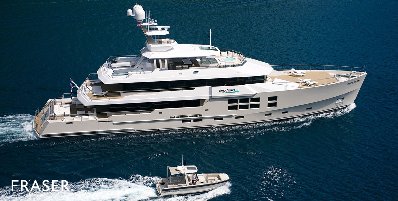 BIG FISH YACHT FOR CHARTER | FRASER