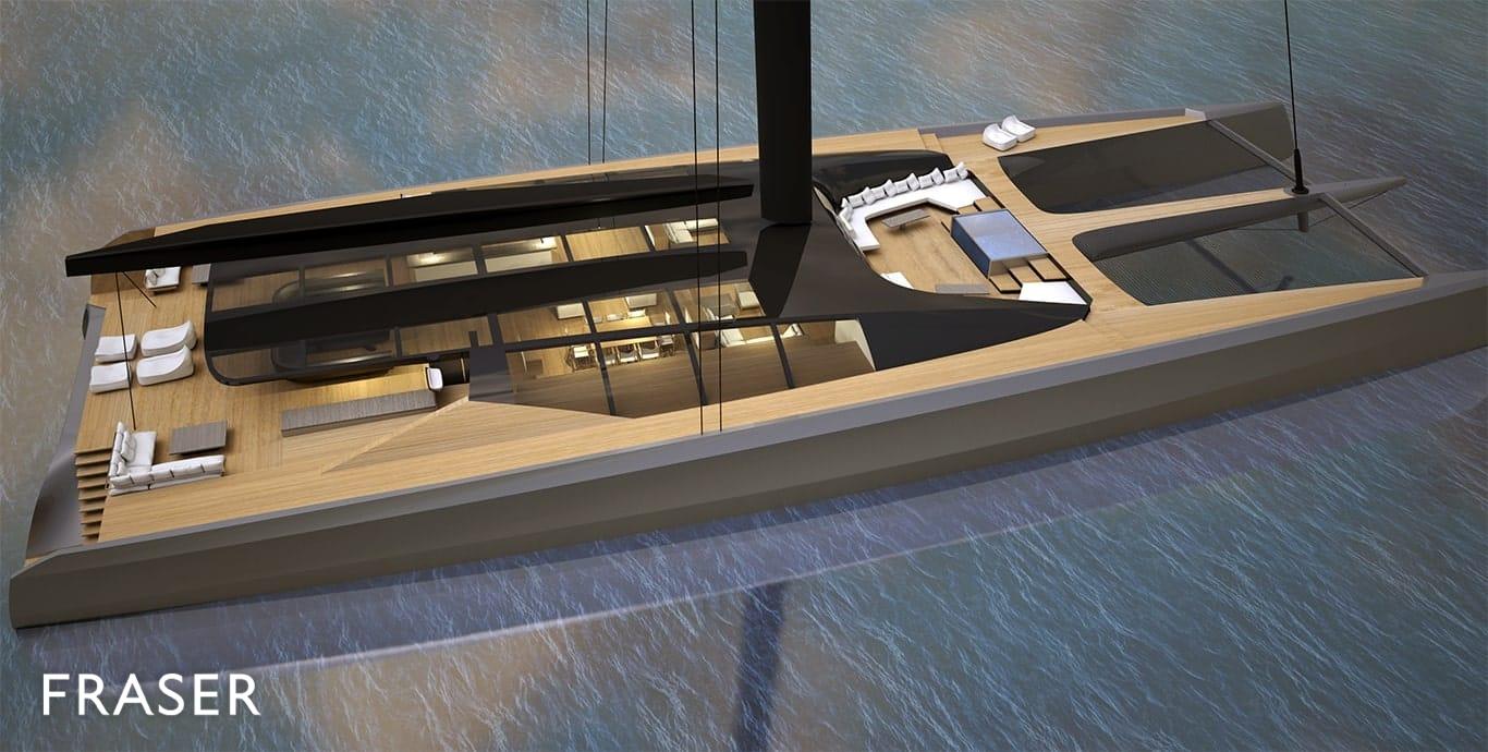 BLACKCAT 50 yacht