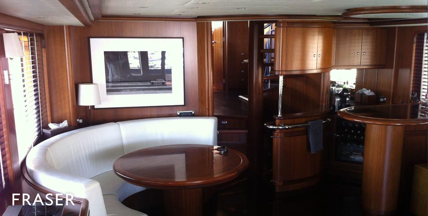 COMMERCIAL BREAK yacht