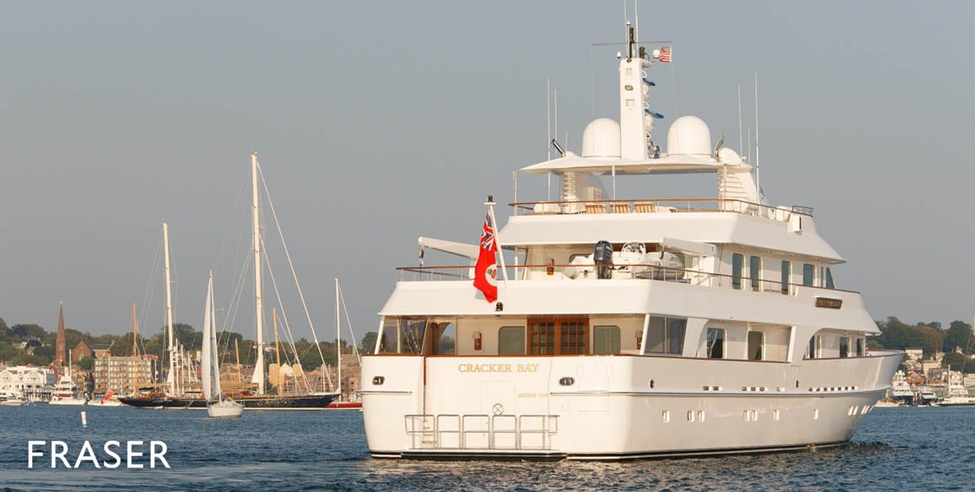 CRACKER BAY yacht