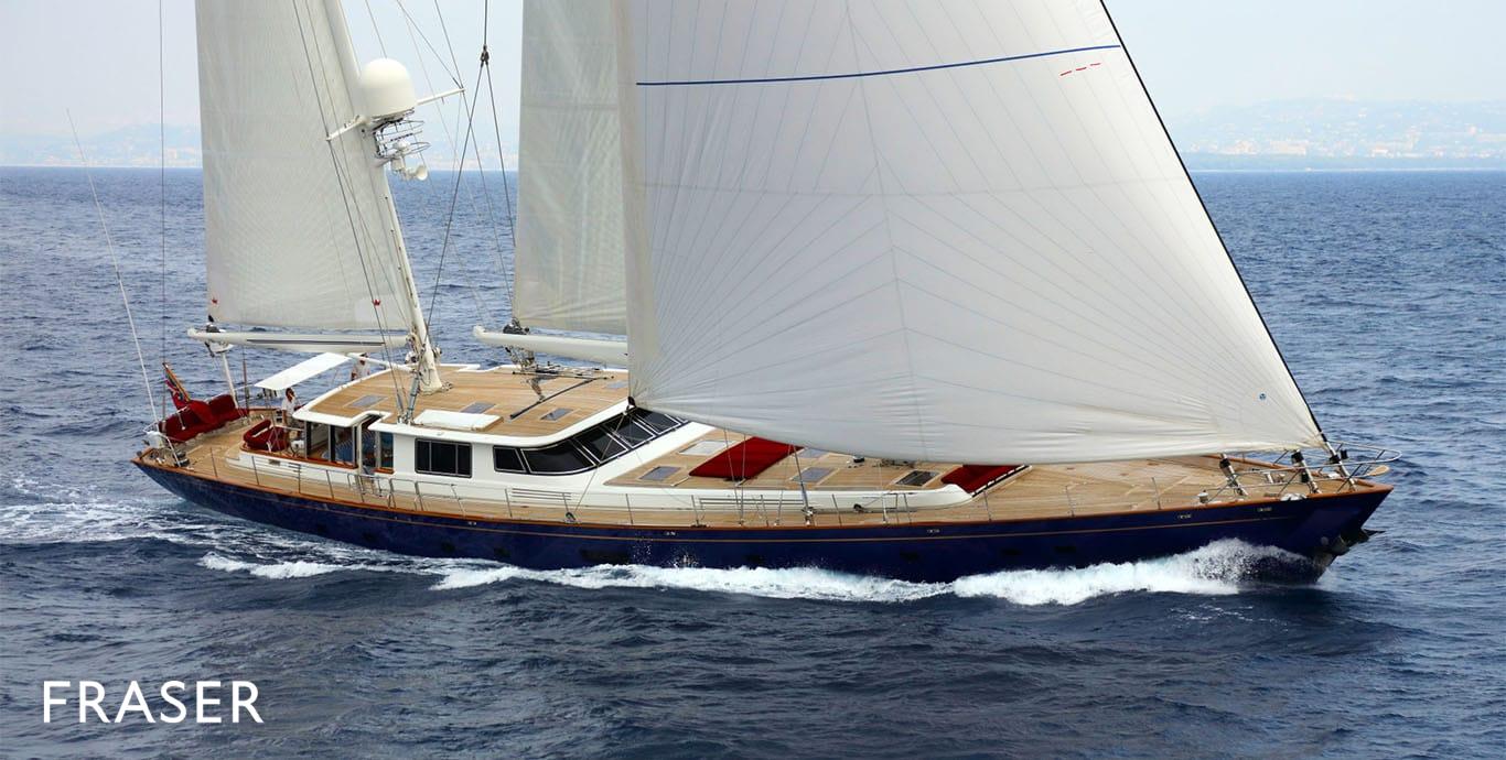 CYRANO DE BERGERAC Yacht | Fraser