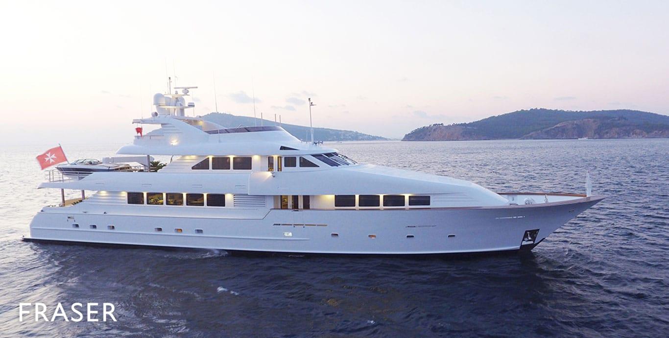 Destiny Yacht Fraser