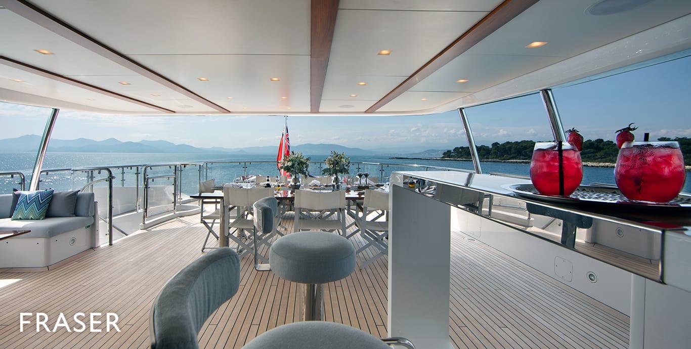 DYNA R yacht