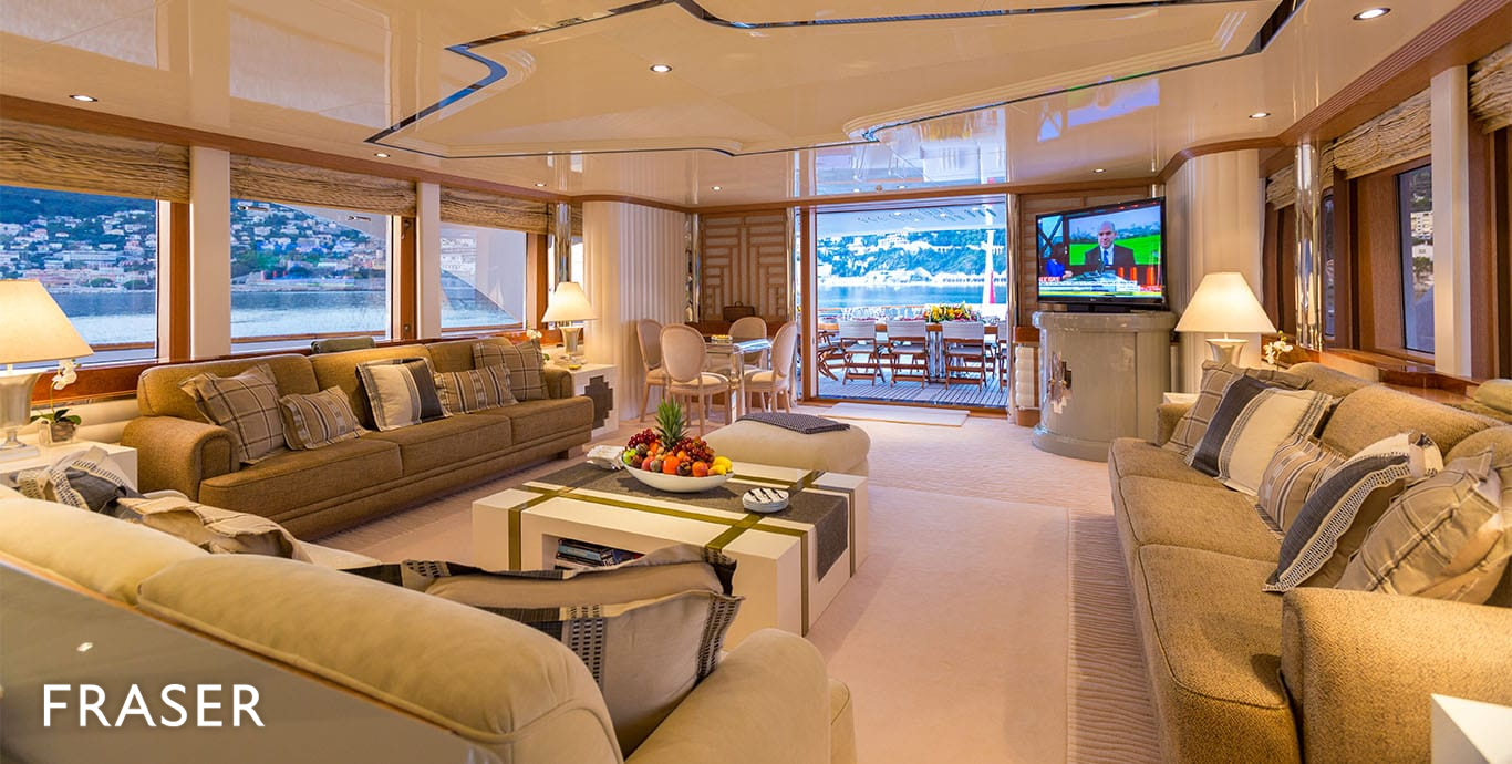 Eclipse yacht interior  MOTOR YACHT ECLIPSE | FEADSHIP | FRASER