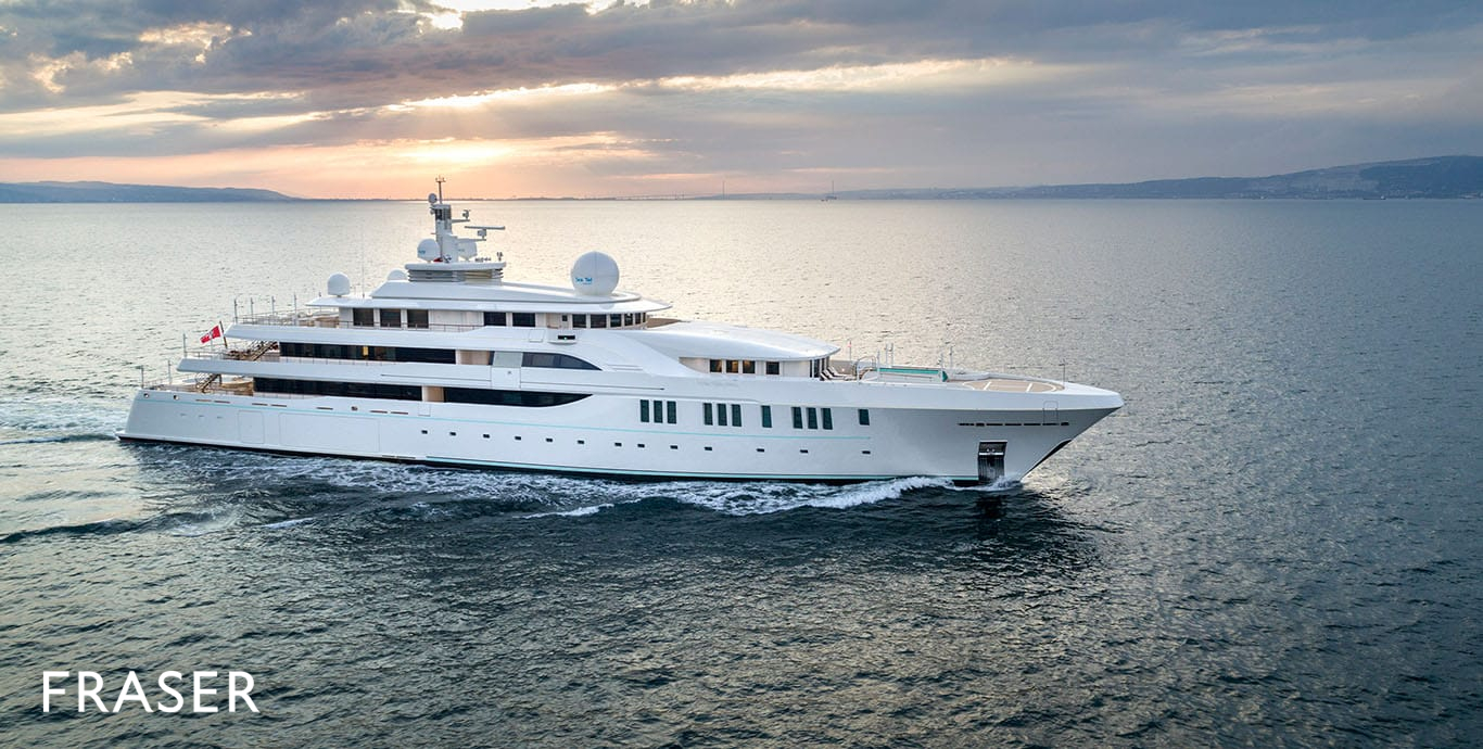 Yachts for Sale with a Helipad | Fraser