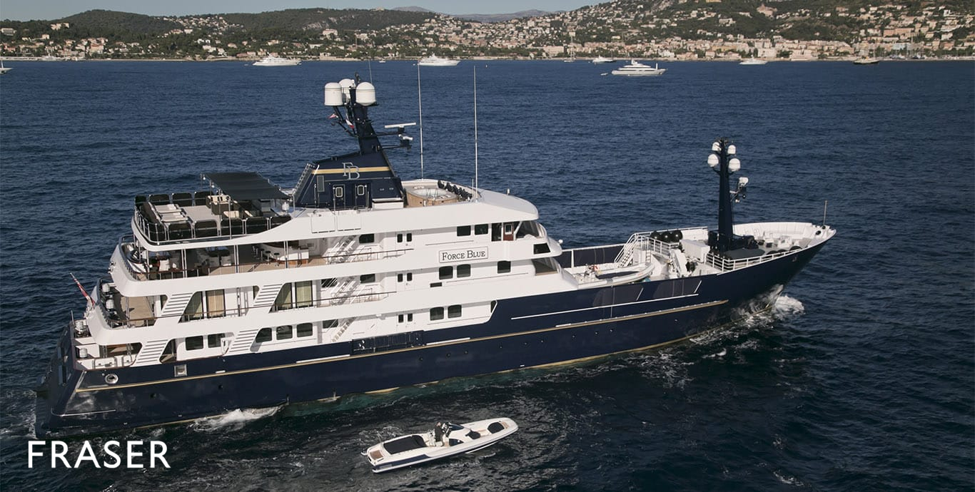 FORCE BLUE yacht