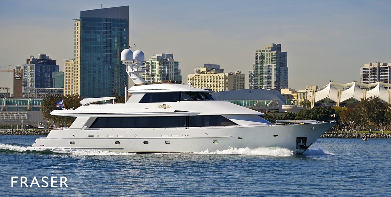 GOLDEN BOY II Yacht   Fraser