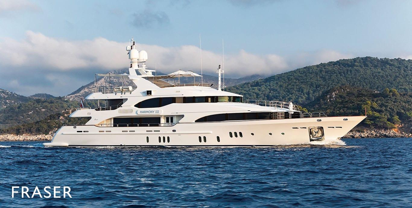 HARMONY III yacht