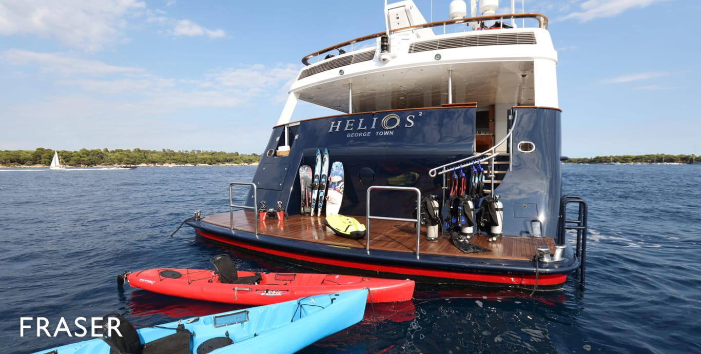 HELIOS 2 yacht