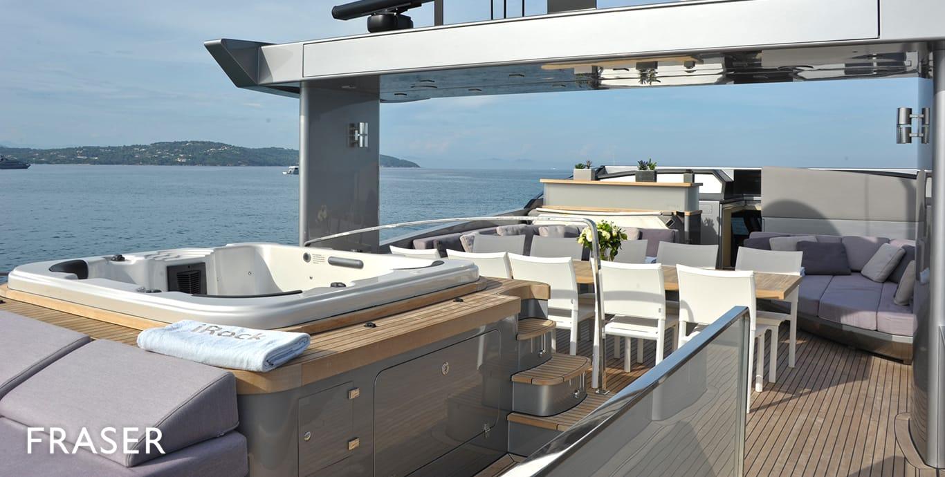 IROCK yacht