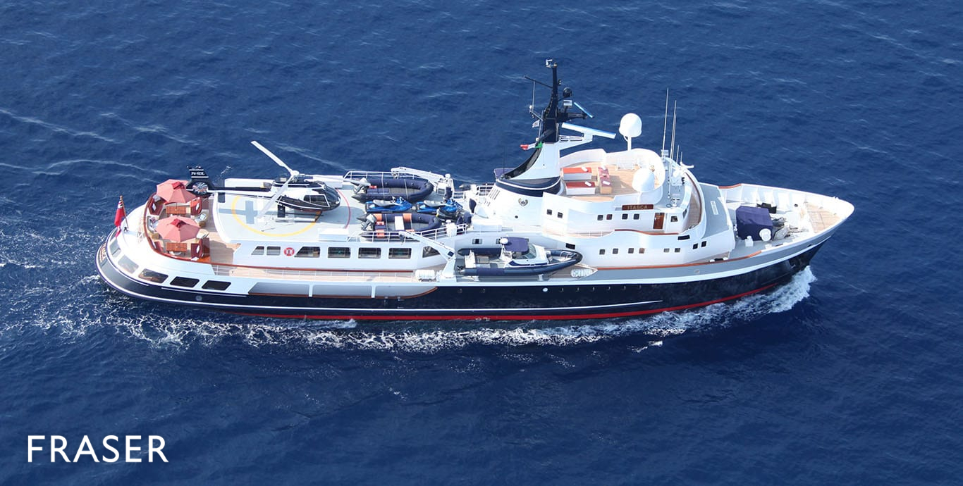 ITASCA yacht