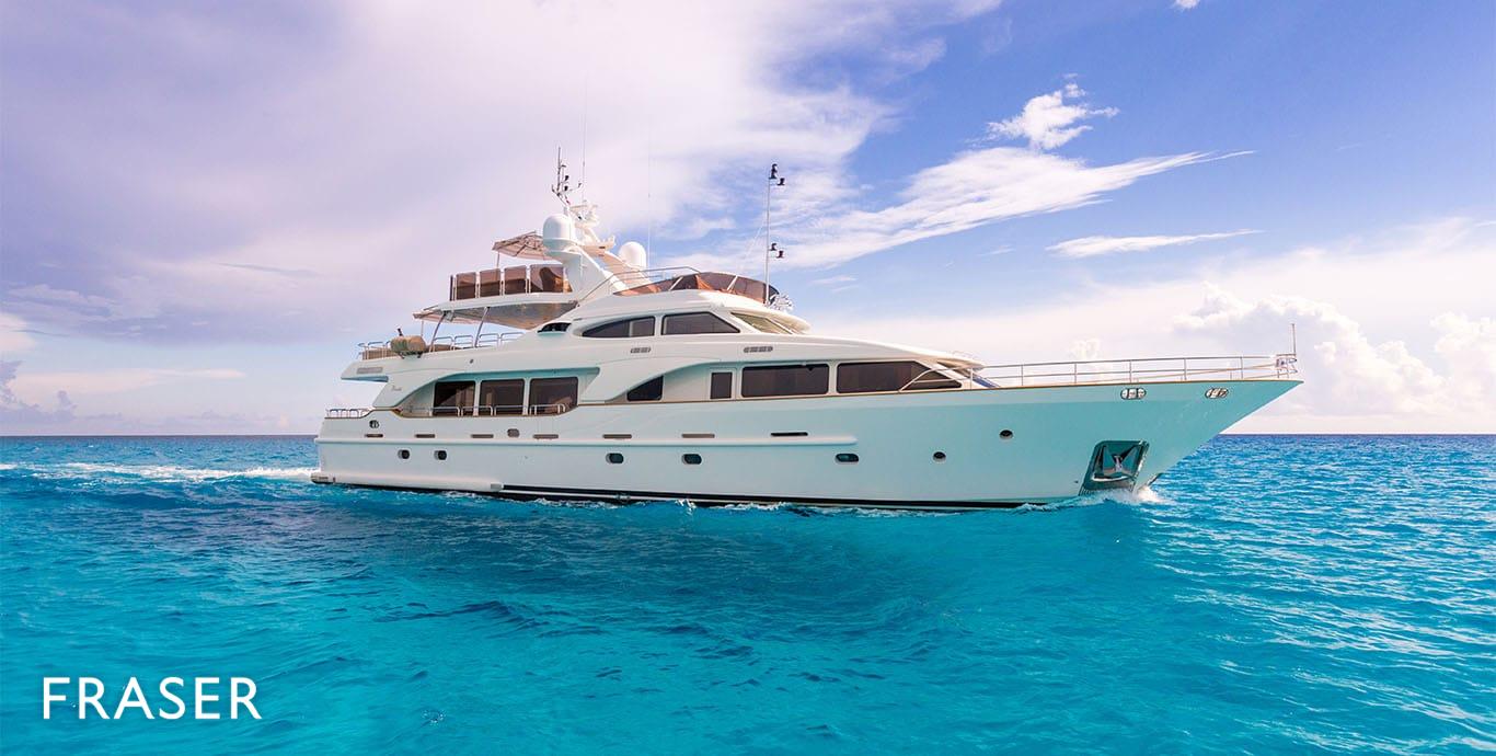 Jazz Yacht For Charter Fraser