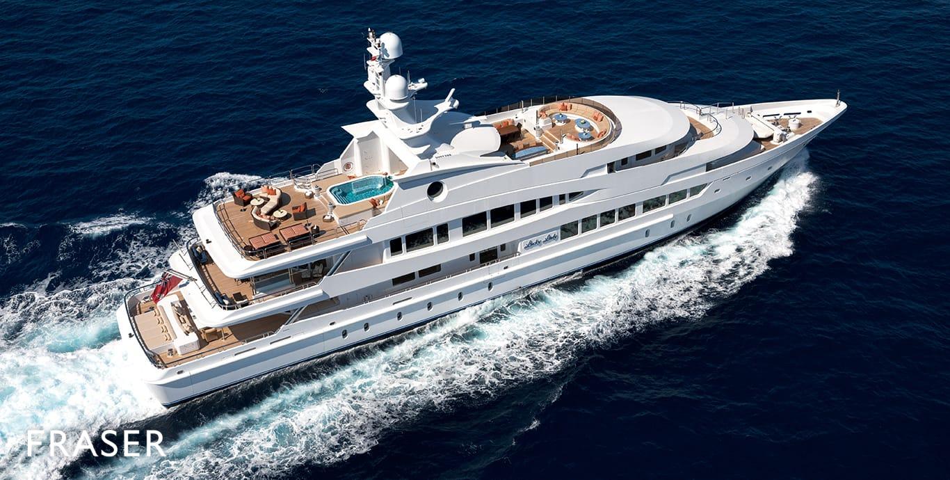 LUCKY LADY yacht