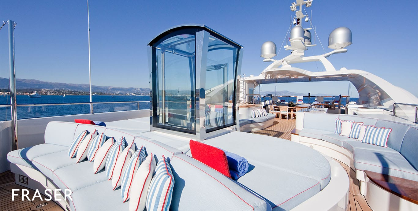 Latitude Yacht For Charter Fraser
