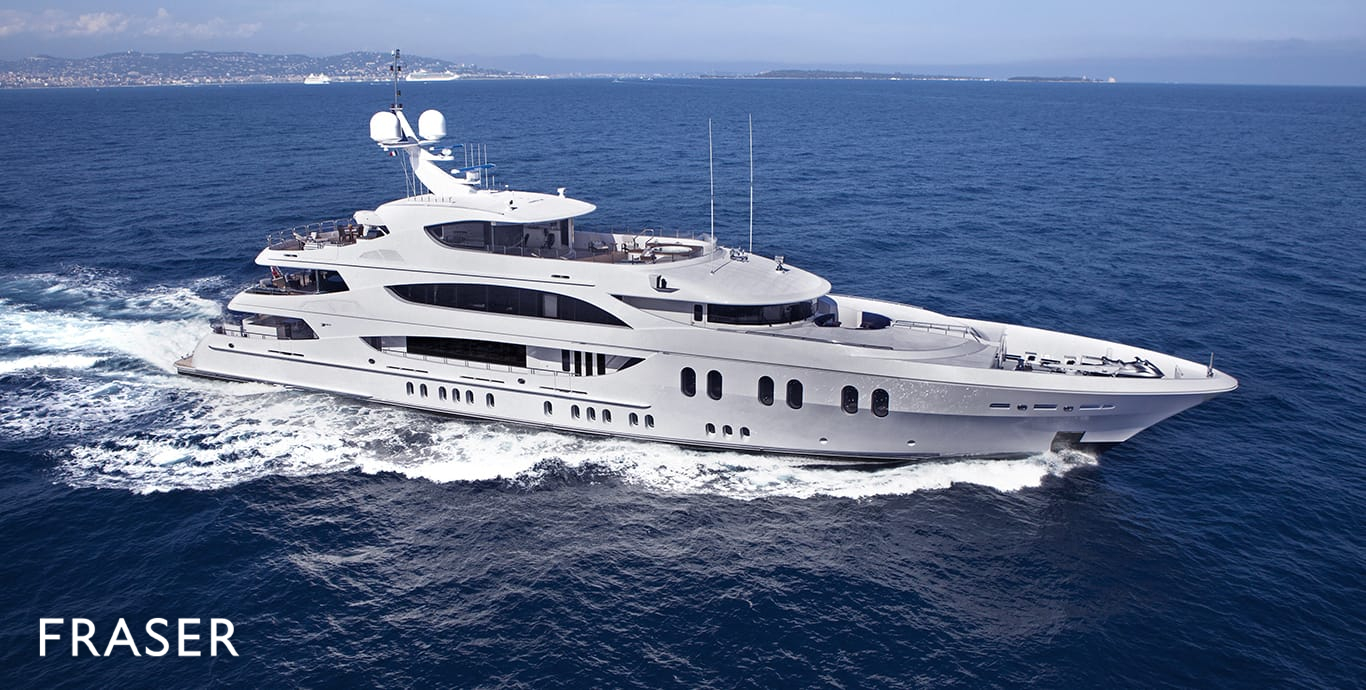 Liberty Yacht For Charter Fraser