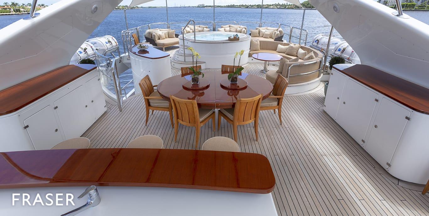MAG III yacht