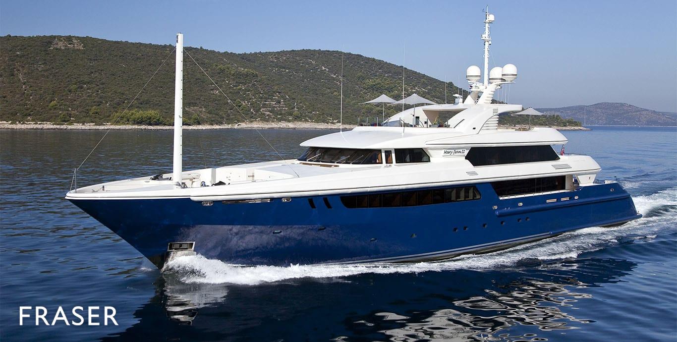 MARY-JEAN II yacht
