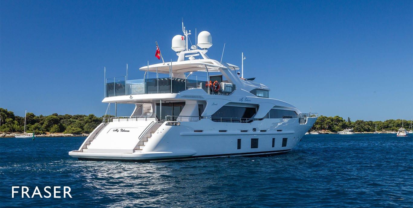 MY ZEHAVA yacht