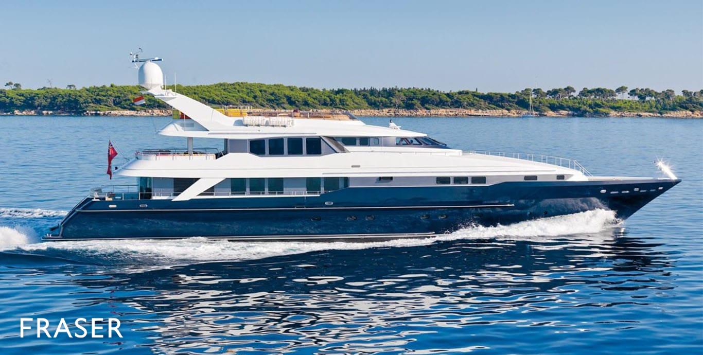 OHANA Yacht for Sale | Fraser