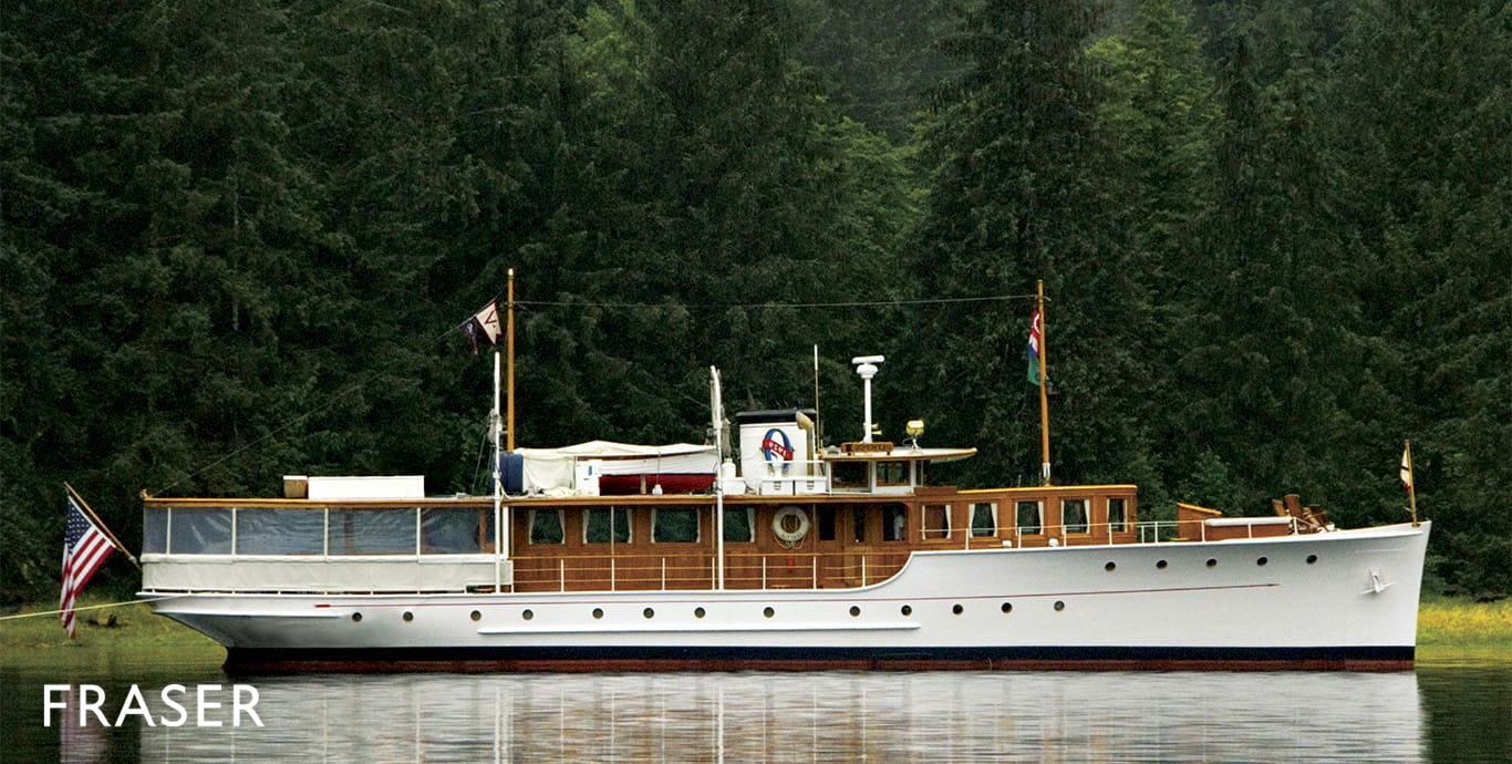 Motor Yacht Olympus New York Launch Fraser
