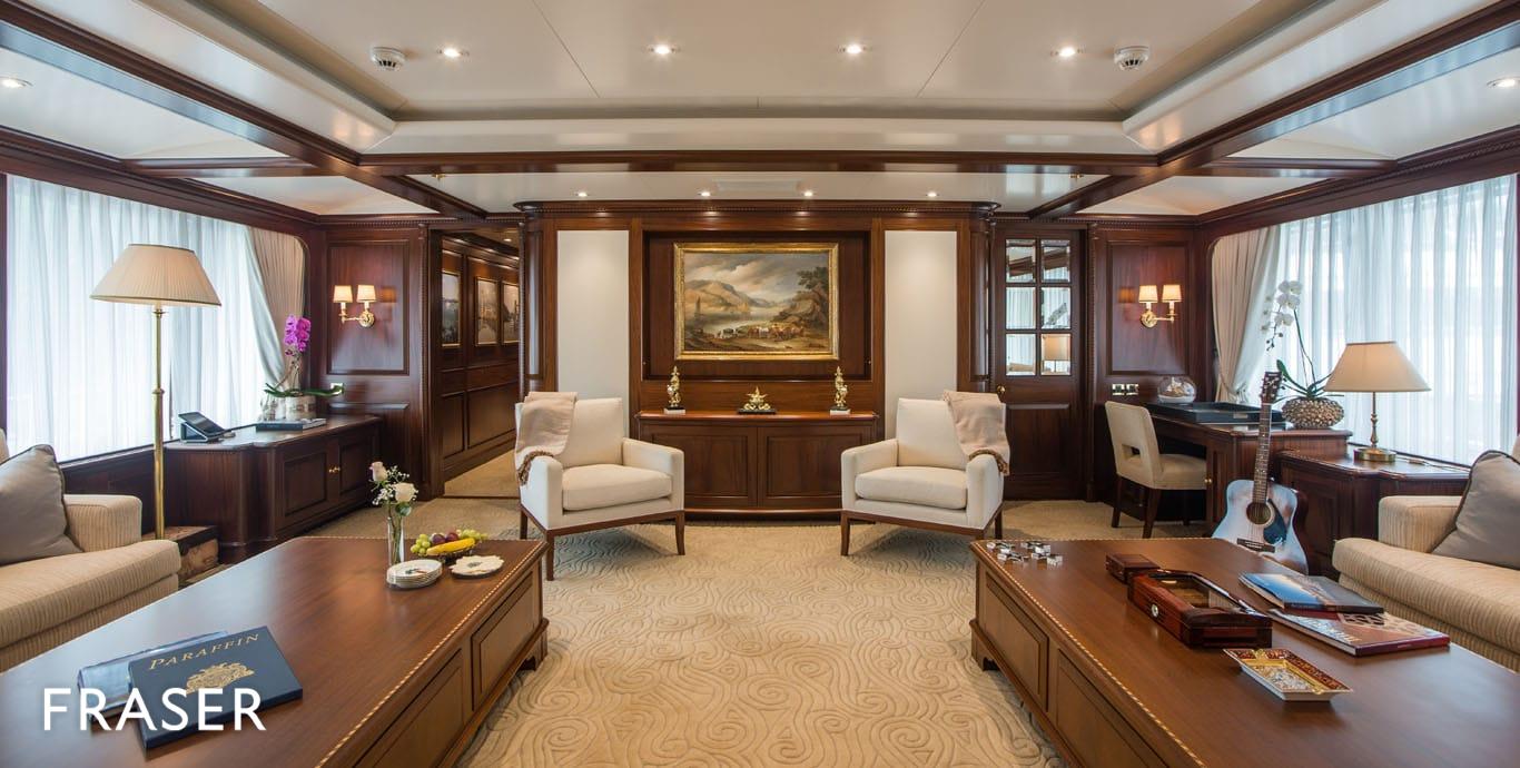 PARAFFIN yacht