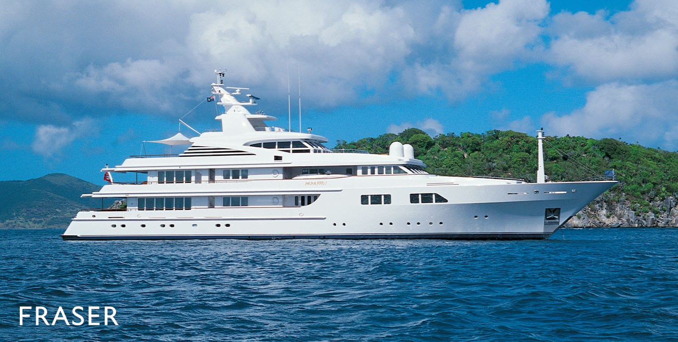 PARAFFIN 60 1M   34 547 000. Luxury Yachts   Sale  Charter  Management  Construction   Fraser