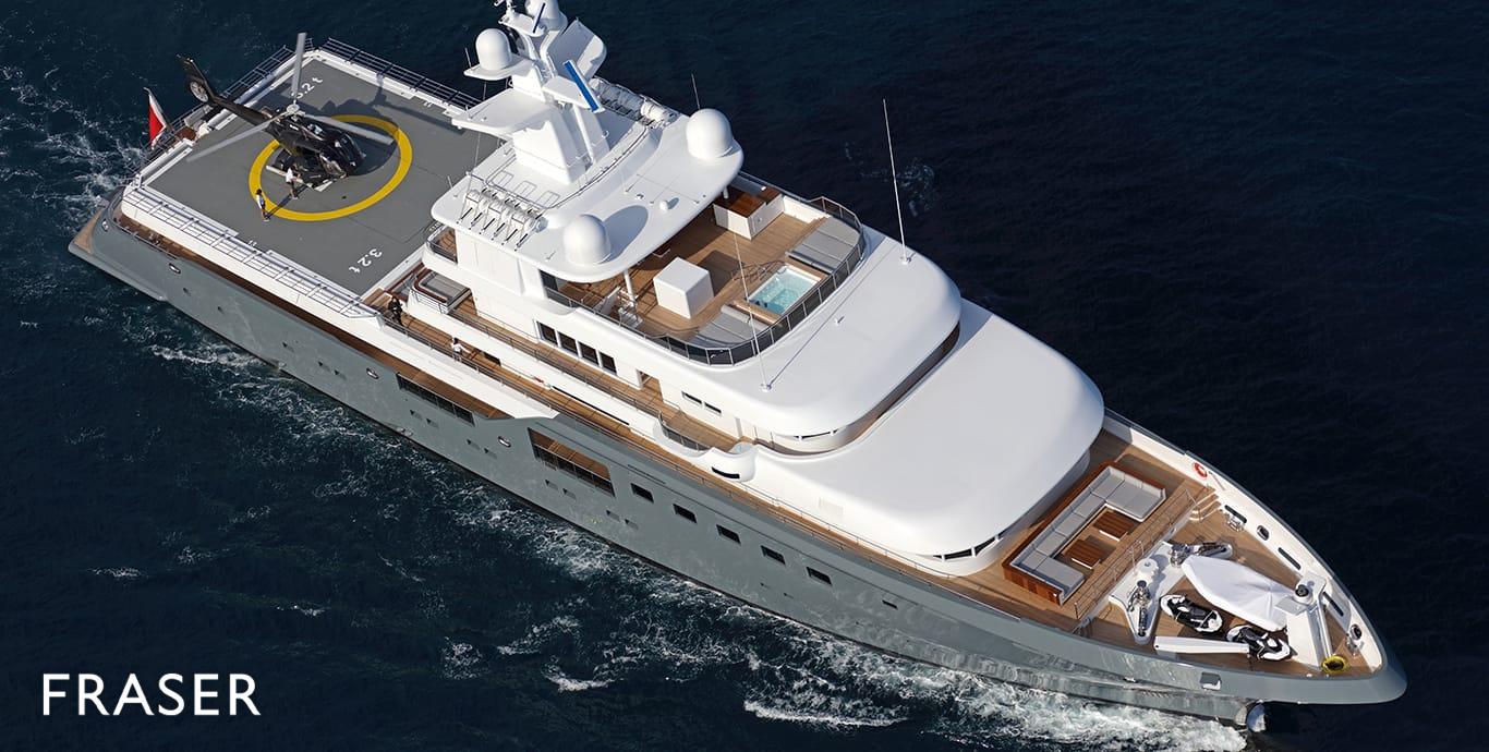 PLANET NINE Yacht for Sale | Fraser
