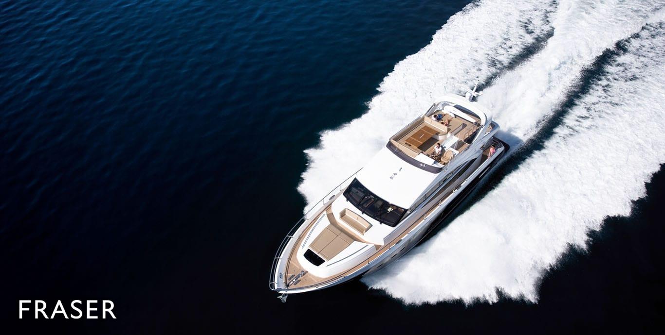 PRINCESS 78 yacht