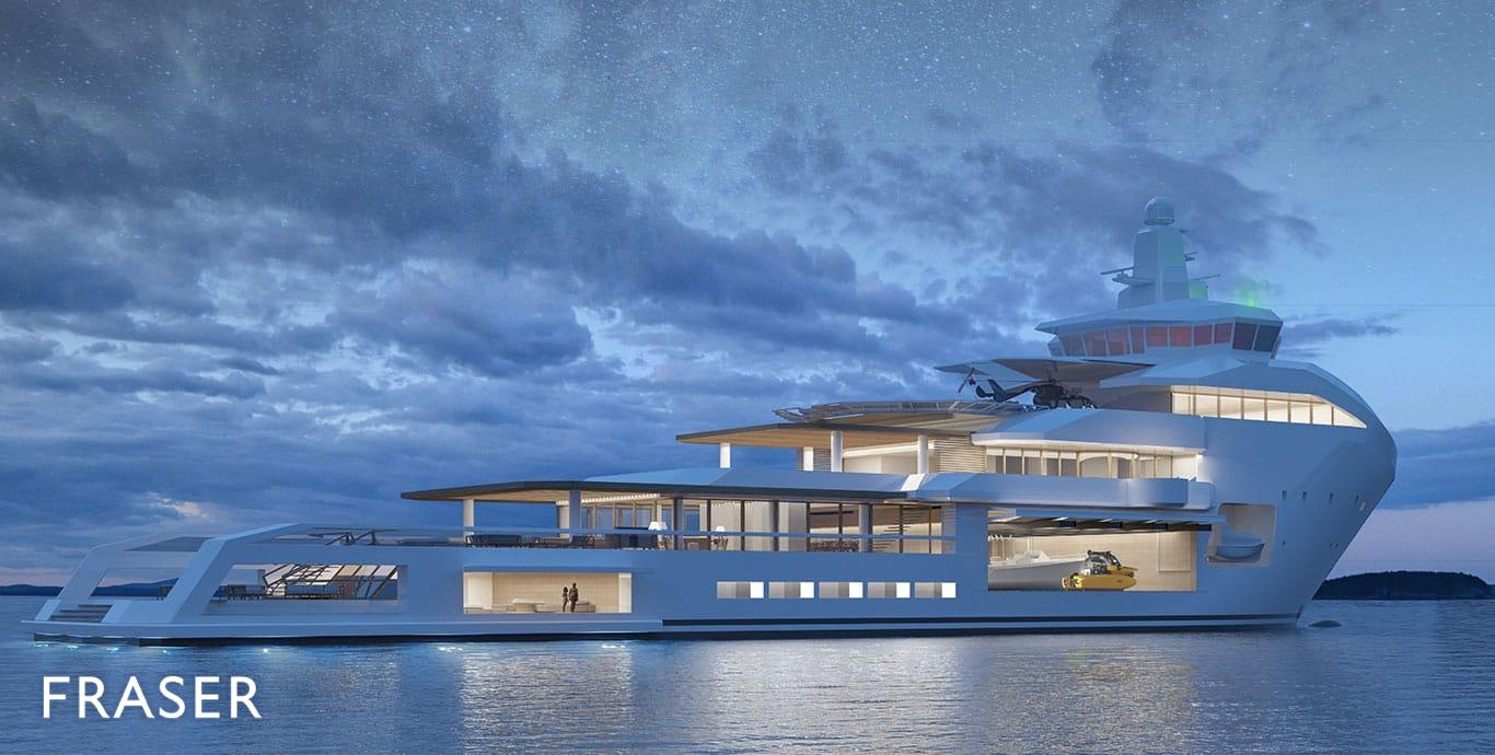 Motor Yacht Project Brage Vard Yachts Fraser