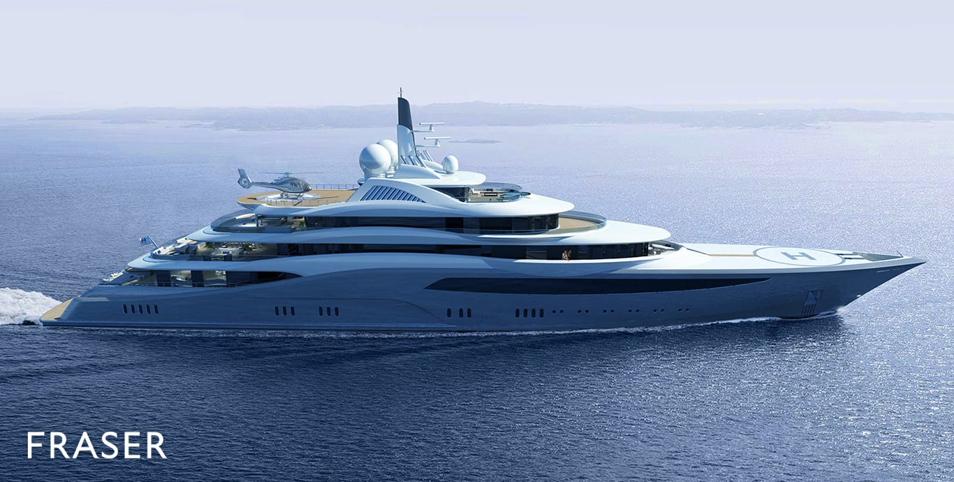 PROJECT INFINITY yacht